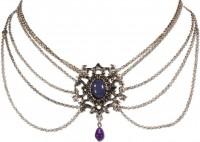 Vorschau: Collier Eleonore lila