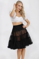 Preview: Petticoat in black 60cm