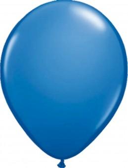 100 blaue Latexballons 30cm