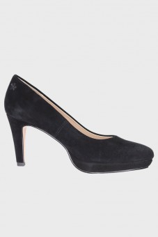 Traditionele pumps Leonie zwart