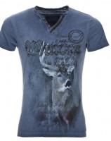 Vorschau: T-Shirt Uberto blau