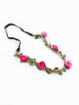 Haarband Mini Flower pink inaktiv