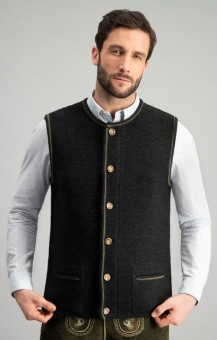 Trachten vest Jonas in anthracite