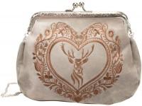 Vorschau: Rahmentasche Trachtentasche beige
