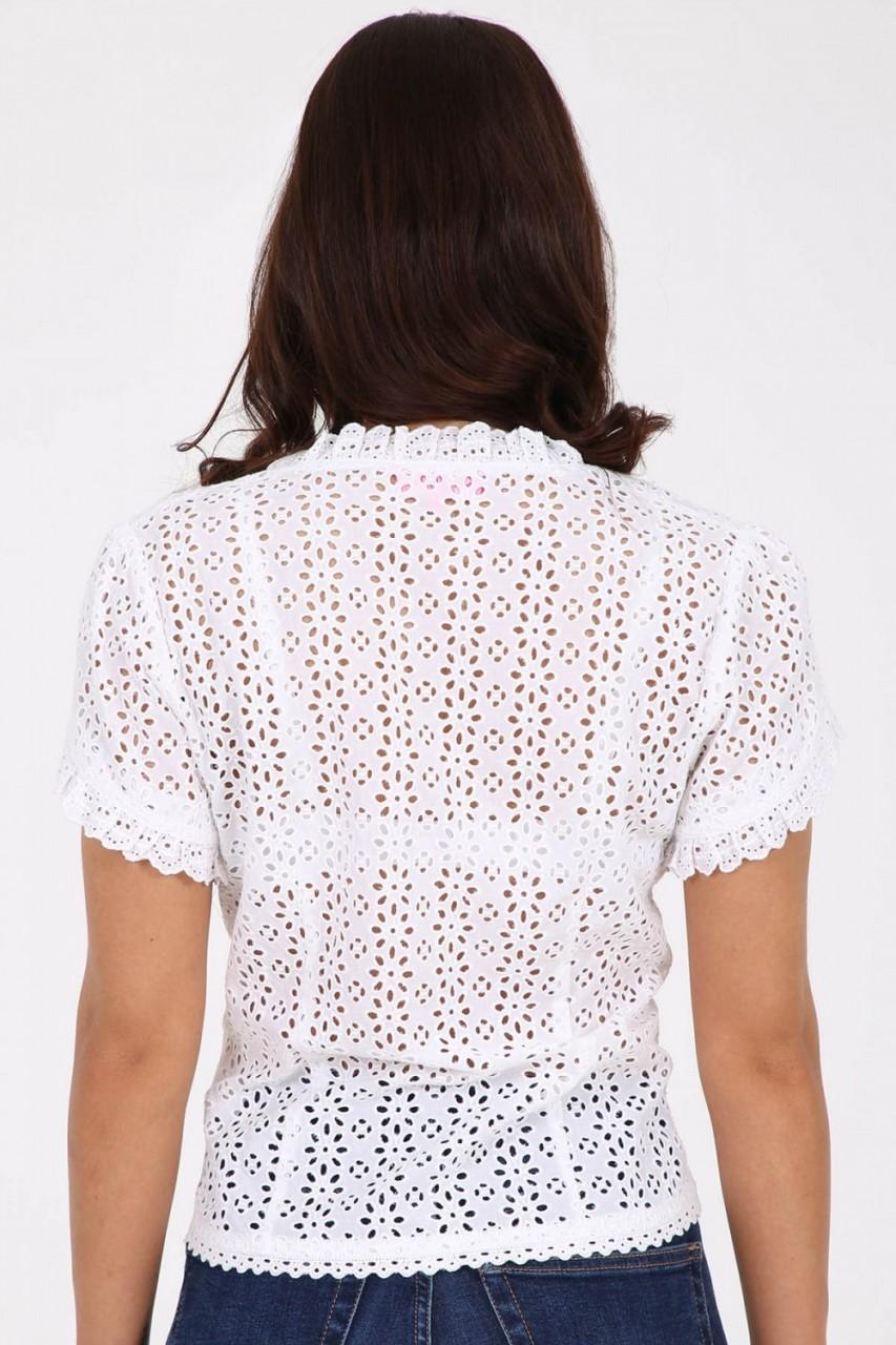 Traditionele blouse Janine