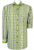Vorschau: Herrenhemd Duncan Normal Fit grün