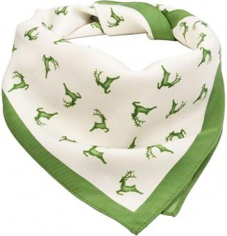Trachten Tuch Hirschfestl grün
