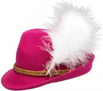 Filzhut Mona pink