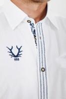 Vorschau: Trachtenhemd Benji blau