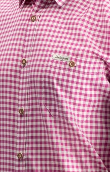 Traditional shirt Campos in berry