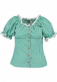 Ladies blouse Laura green
