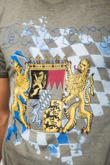 T-Shirt Bayern grau