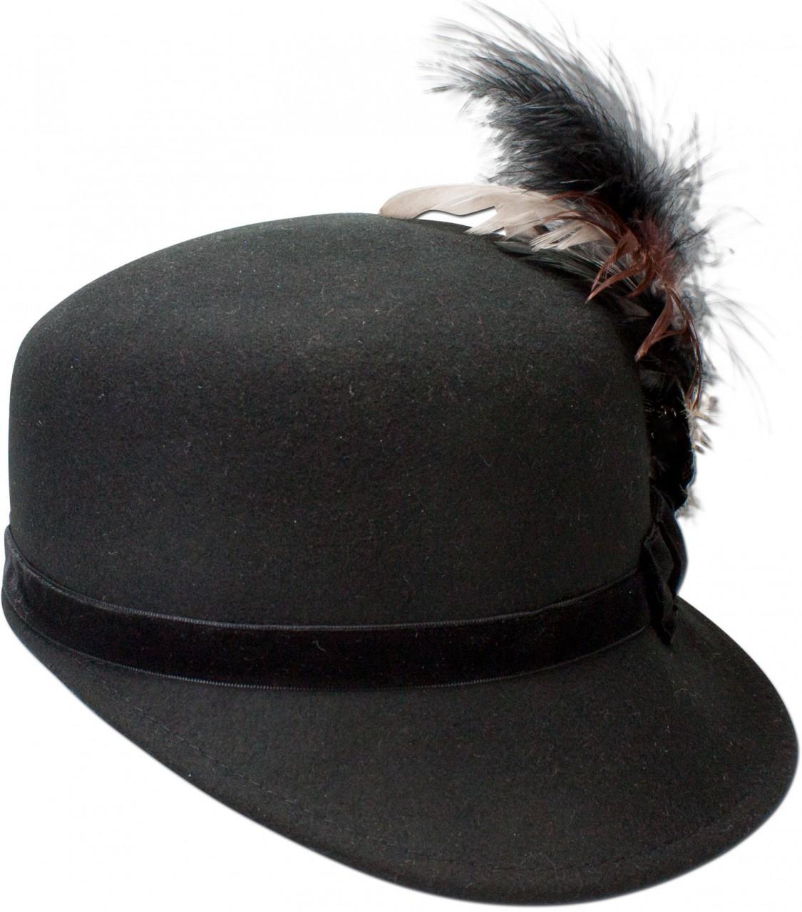 Trachtenhut Kappe Louisa schwarz