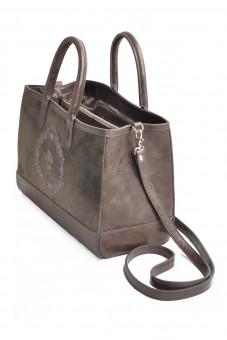 Handtasche Mia grau klein