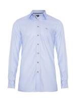 Vorschau: Trachtenhemd Lorenzo hellblau