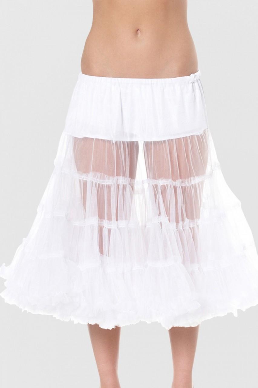Petticoat in wit 60cm