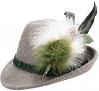 Vorschau: Trachten Filzhut Isabelle grün