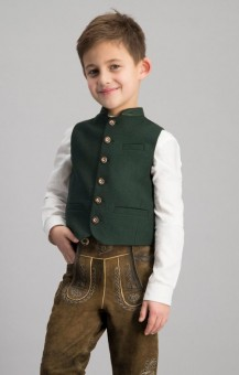 Vest Alois jr. in dark green