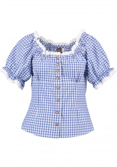 Ladies blouse Laura blue