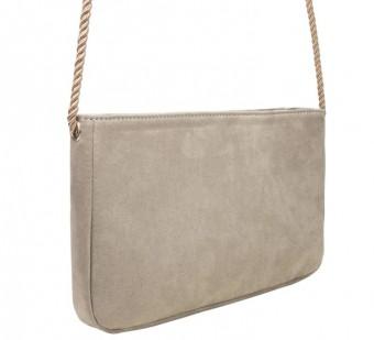 Clutch Tasche Merini taupe-grau