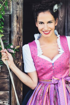 Dirndl Dolores, pink