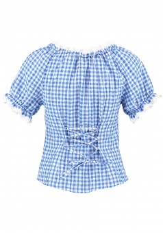 Ladies blouse Hildegard blue