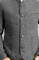 Preview: Traditional jacket Wolfgang gray