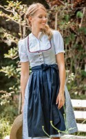 Preview: Dirndl Karina blau