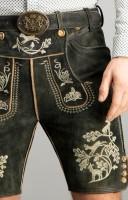Vorschau: Lederhose Bartl in graphit