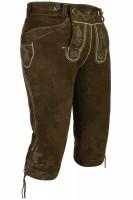Vorschau: Kniebundlederhose Vittorio khaki