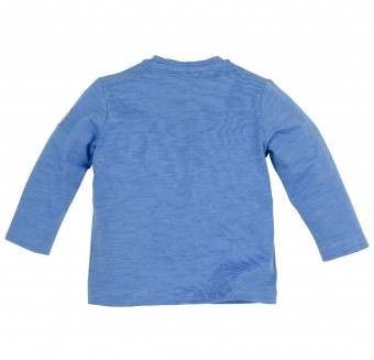 T-Shirt langarm 'Bergsilhouette'