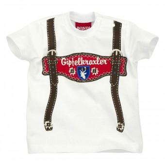 Kinder T-Shirt halbarm 'Hosenträger'