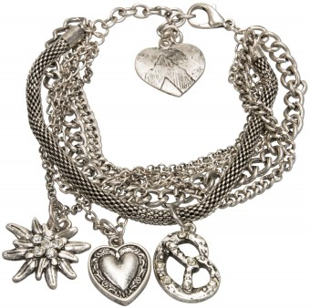 Trachtenarmband Mathilde altsilber