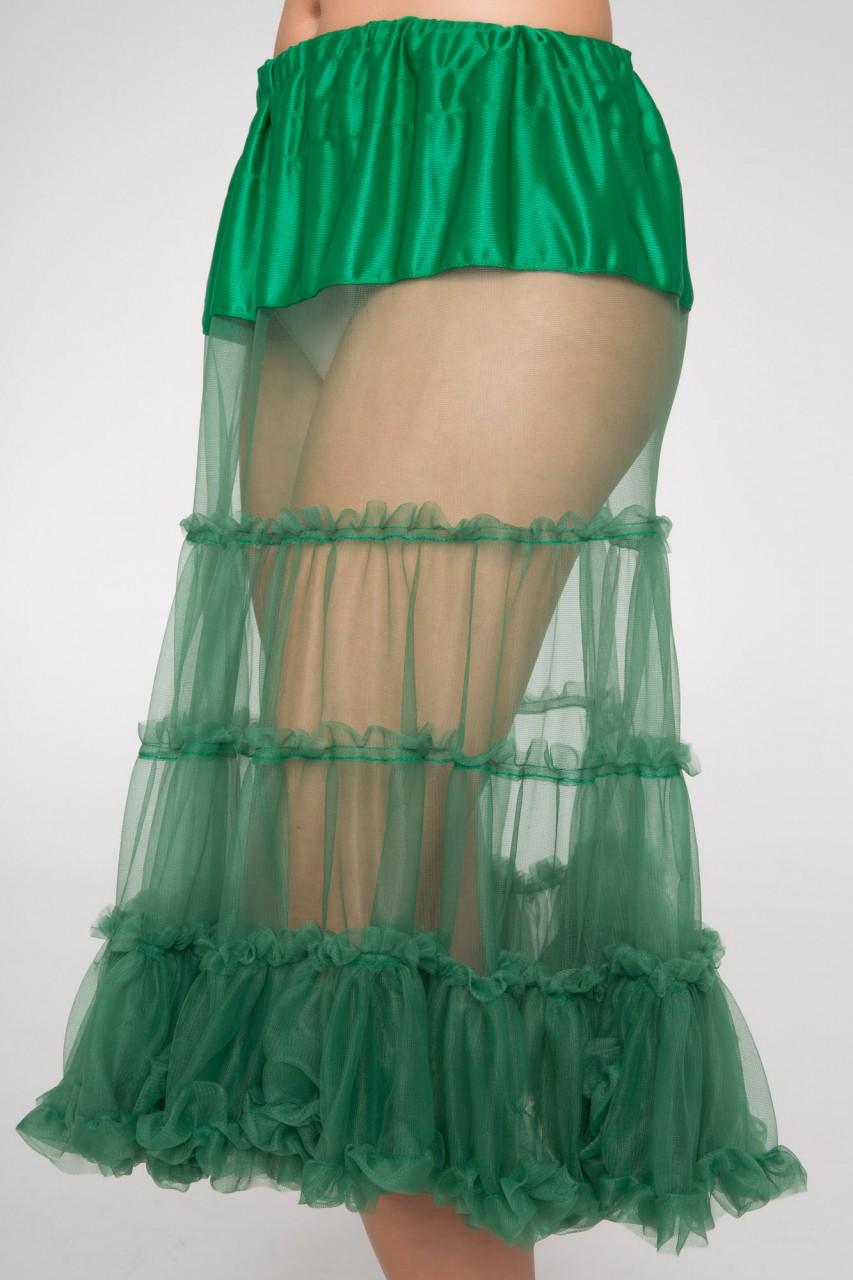 Dirndl petticoat groen