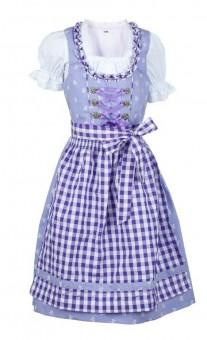 Kinderdirndl Chrissi lila