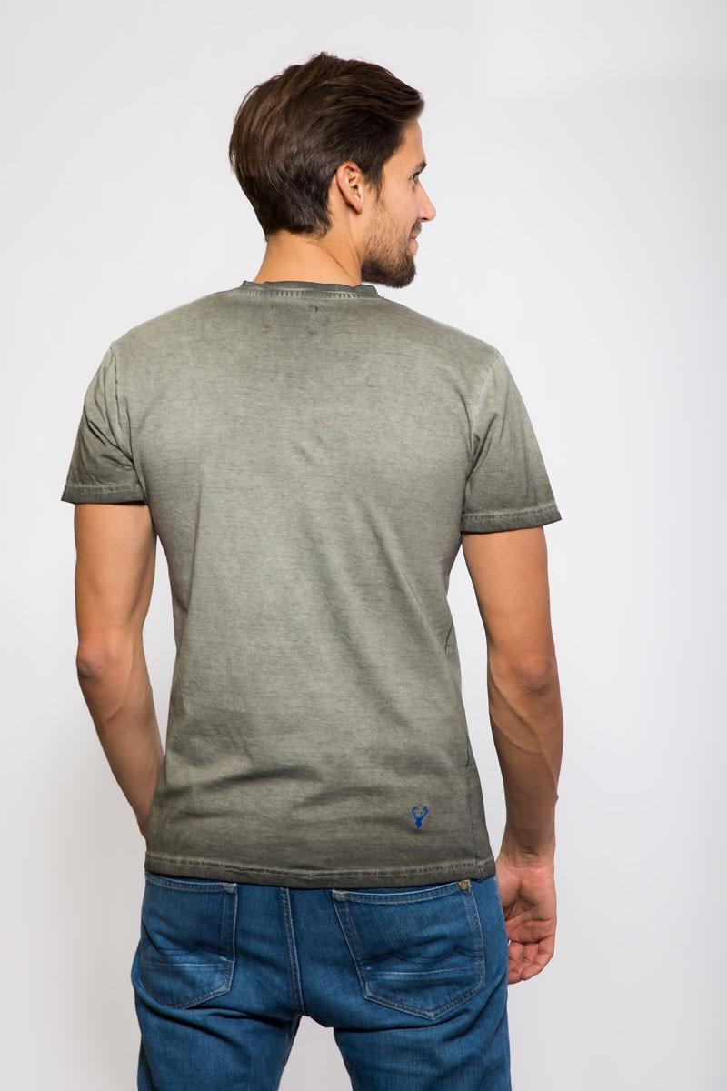 Koszulka bawełniana szara