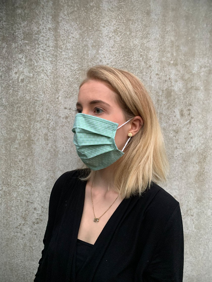 Mund-Nasen-Maske Evie grün