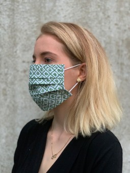 Mund-Nasen-Maske Judith khaki