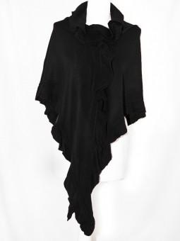 Poncho schwarz