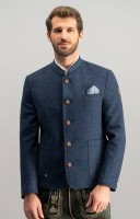 Preview: Traditional jacket Wolfgang dark blue