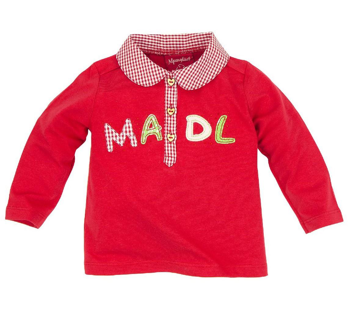 Poloshirt langarm 'Madl'
