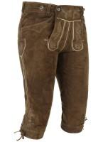 Vorschau: Kniebundlederhose Valentin khaki