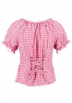 Ladies blouse Hildegard red