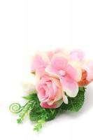 Vorschau: Ansteckblume Flore rosa