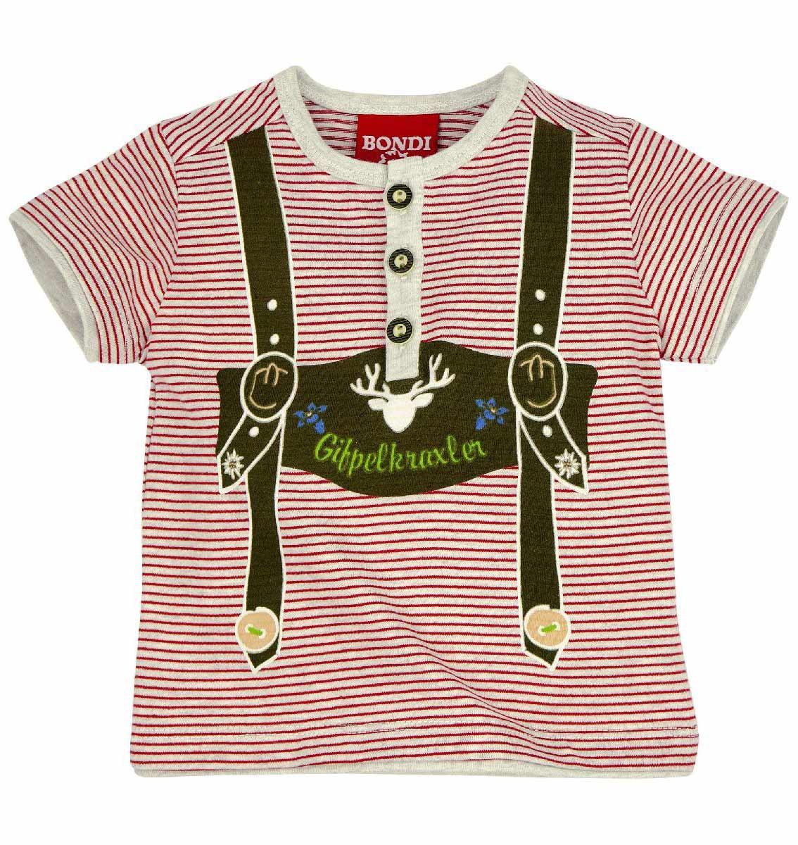 T-shirt marszczony na guziki