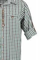Vorschau: Herrenhemd Voitl dunkelgrün
