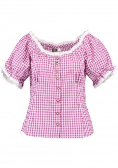 Ladies blouse Laura pink