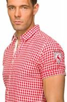 Vorschau: Kurzarmhemd Connor rot
