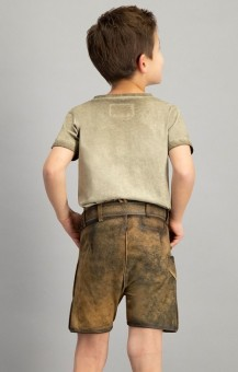 Children's leather pants Moritz