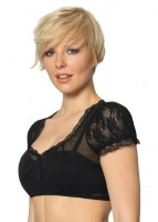 Preview: Dirndl blouse Mariella in black